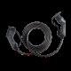 Câble de recharge 5 mètres Type 2 - Type 2 jusqu'à 7,4kW